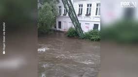 Severe floods strike Europe; dozens dead and missing