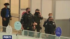 Newark Airport briefly evacuated when traveler set off alarm