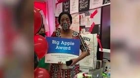 Bronx teacher takes pride in winning Big Apple Award in a challenging year