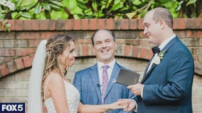 Couples turn to family and friends ordained online to officiate their weddings