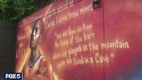 Memorial mural of DMX completed in Yonkers