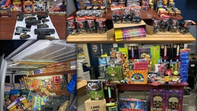 NYPD raids net $54,000 in illegal fireworks, 6 illegal handguns