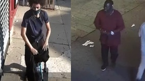 NYPD searching for suspects in pair of alleged anti-LGBTQ incidents
