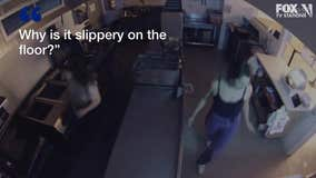 2 women caught on video inside closed restaurant attempting to fry dumplings