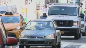 De Blasio and mayoral candidate Adams want congestion pricing implemented now