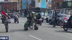 Hit-and-run in Queens park highlights dangers of illegal motorbikes