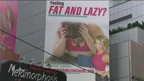 Times Square billboard ignites fat-shaming controversy