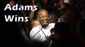 Democrat Eric Adams says he's ready to lead New York City