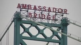Ambassador Bridge reopens after possible explosives investigation; driver in custody