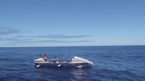 Rowing crew sets world record for crossing Pacific Ocean between San Francisco and Hawaii