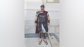 Arizona man who donned Gladiator costume and filmed melee for mom during Capitol Riot arrested