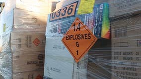 Nearly 80,000 pounds of illegal fireworks seized along California-Nevada border