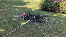 Over 20 flags stolen from graves at SC cemetery, burned before 4th of July; congressman vows to replace them