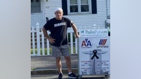 Man to honor 9/11 crews by pushing drink cart from Boston to New York
