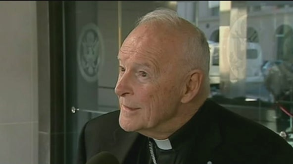 Former Cardinal McCarrick charged with sexual assault