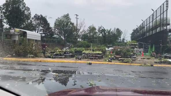 Tornado touchdowns confirmed as severe storms hit tri-state area