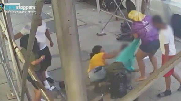 'Why would they pick on me?' - Victim of brutal Harlem beating speaks out