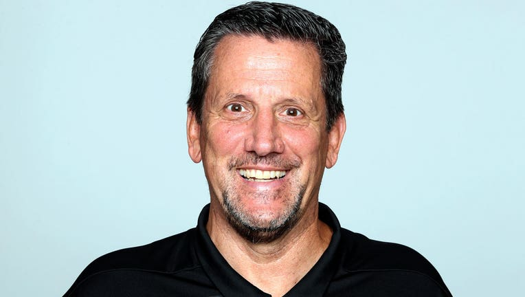 This is a 2019 file photo shows Greg Knapp of the Atlanta Falcons NFL football team. Knapp, currently a New York Jets assistant coach was in a