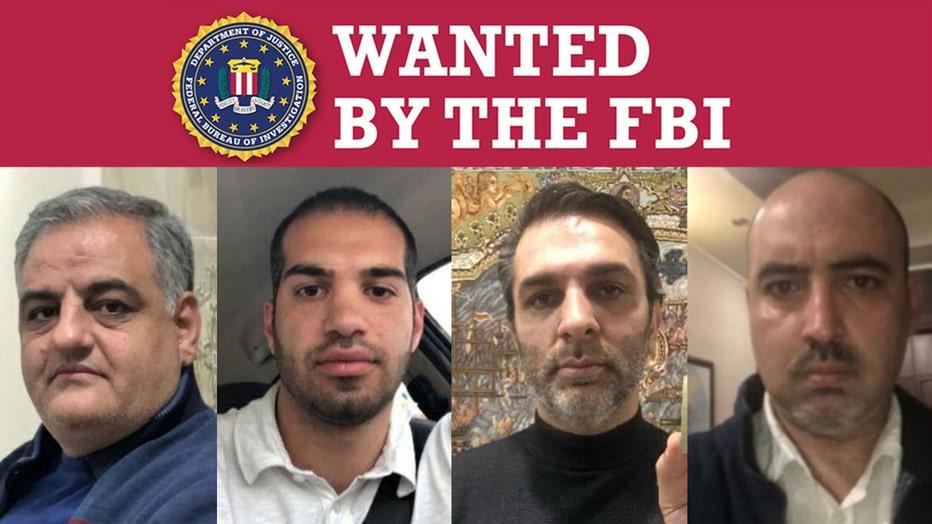 An FBI Wanted poster