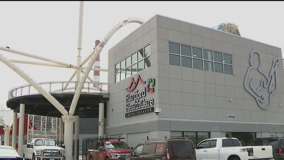 FILE - Hartford HealthCare Amphitheater in Bridgeport, CT.