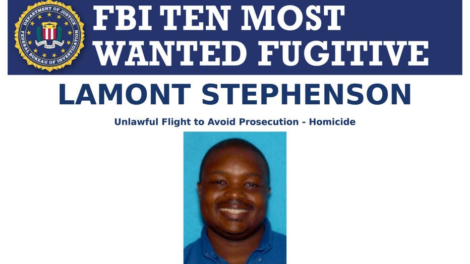 Lamont Stephenson was on the FBI's Ten Most Wanted list.
