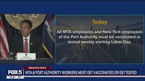 Vaccines and masks in NYC