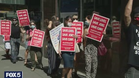 CUNY faculty protest reopening amid delta variant surge