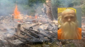 Offers flood in after hermit's cabin burns down