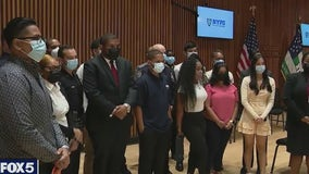 NYC youth finish summer jobs with NYPD