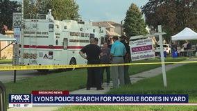 Son tells Lyons police he buried mom, sister in backyard