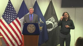 De Blasio slams Cuomo saying 'he should never hold office again'