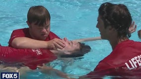 Newly certified lifeguard proves determination matters