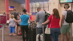Air travel slows as delta variant surges