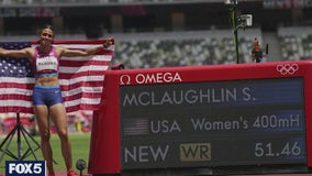 Olympic champion Sydney McLaughlin's NJ hometown cheers from afar