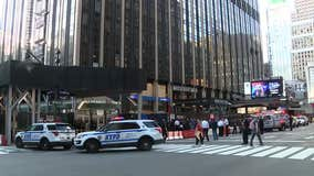 Man hit by stray bullet in front of Penn Station