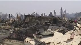 Dixie Fire destroys fire station while volunteer crews battle blaze