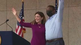 Gov. Hochul introduces Sen. Benjamin as her pick for lieutenant governor