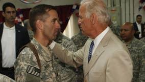 President Biden's late son Beau awarded presidential medal in Kosovo