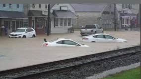 Henri brings nearly 10 inches of rain, heavy flooding to Central NJ
