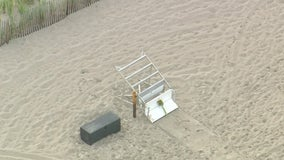 Lightning kills lifeguard, injures several others at Jersey Shore