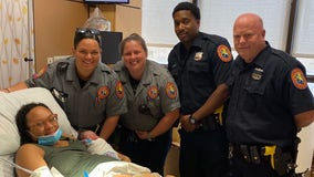 Nassau County police officers help woman deliver baby in Westbury