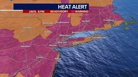 Dangerously hot weather engulfs New York area