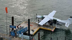 Airline starts Manhattan-to-Boston seaplane flights