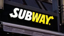 Subway employee says she's suspended after fighting off robber