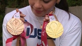 Paralympian from New York celebrates gold from Tokyo Games