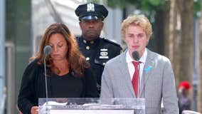 9/11 victim's son gives emotional speech
