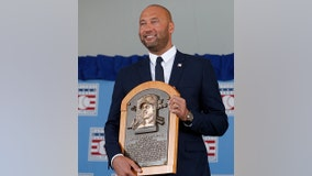Derek Jeter Hall of Fame enshrinement: 'I wanted to make all you behind me proud'