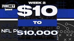 NFL Week 2 Parlay: How to turn $10 into $10,000 in one bet
