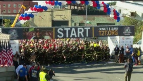 Overwhelming emotion at Tunnel to Towers Run