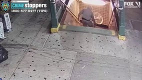 Video shows men who threw Citi Bike onto subway tracks